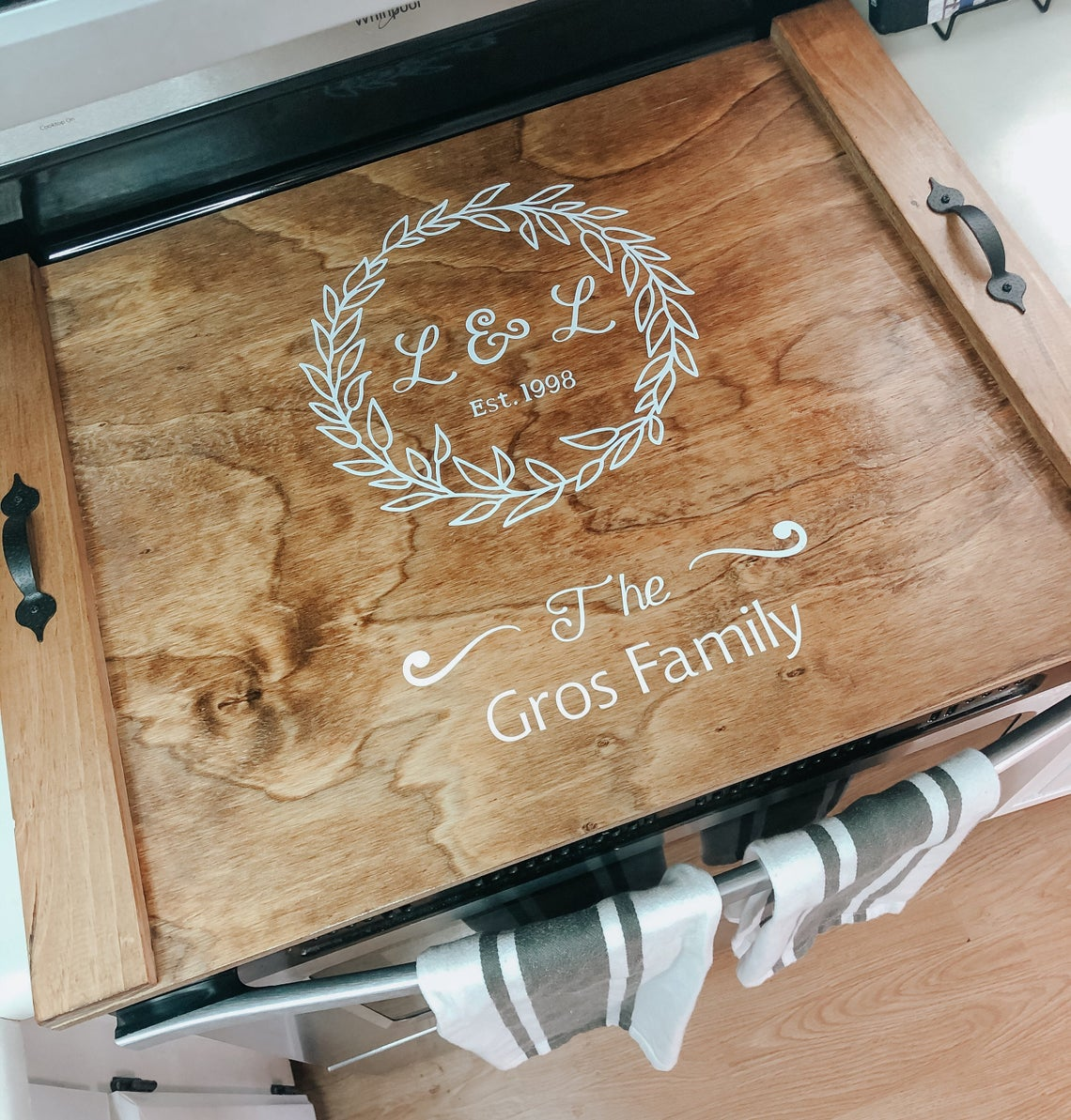 Monogramed Personalized Noodle Board