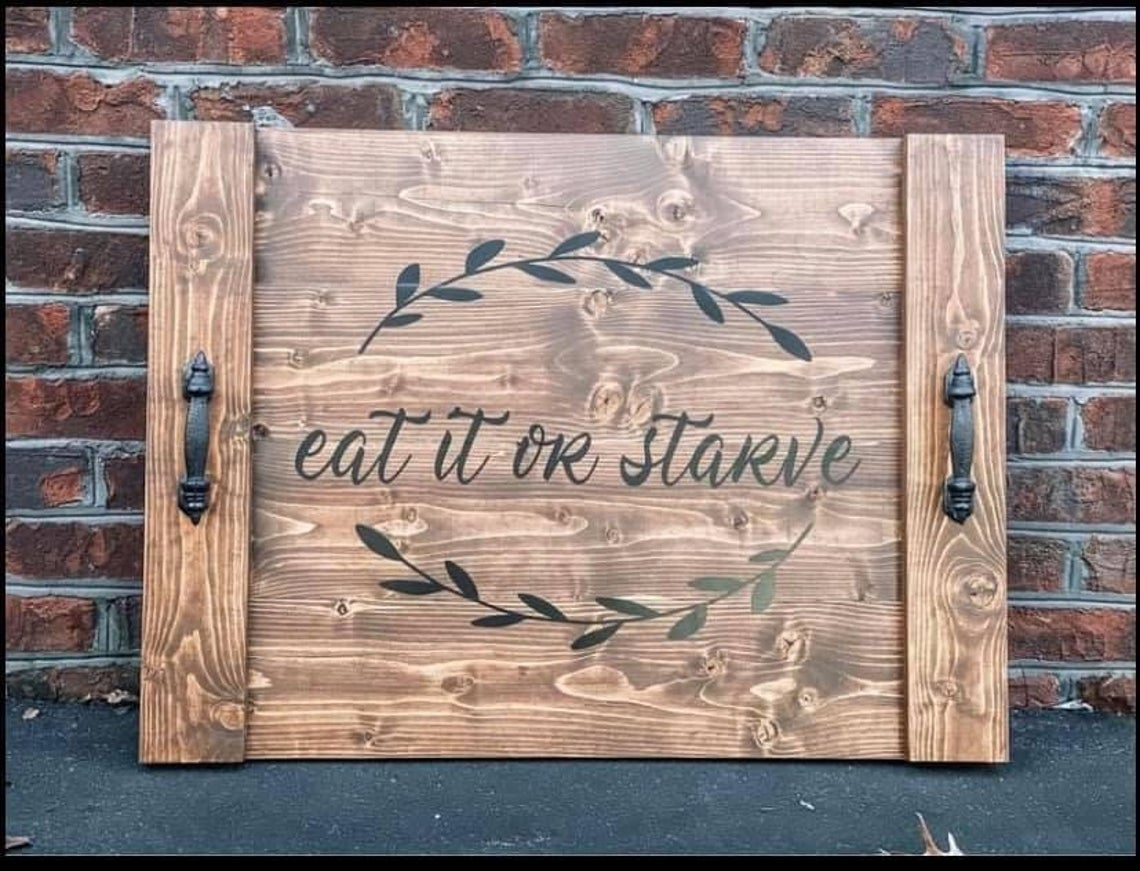 Personalized Noodle Board Brown