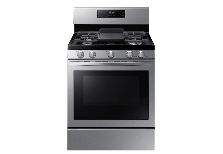 Samsung NX58T7511SS Freestanding Gas Range with Air Fry