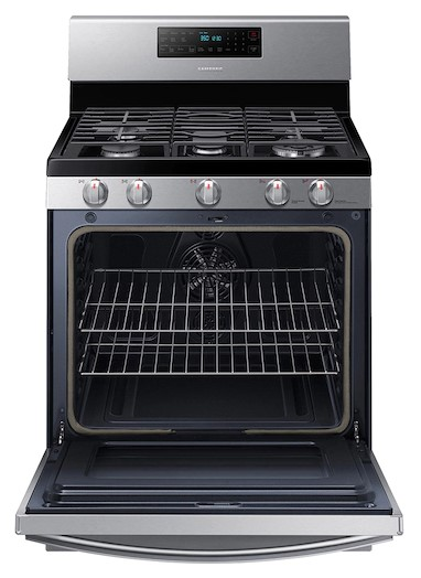 Samsung NX58T7511SS With Convection Oven