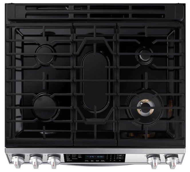 Samsung NX60T8511SS Cooktops